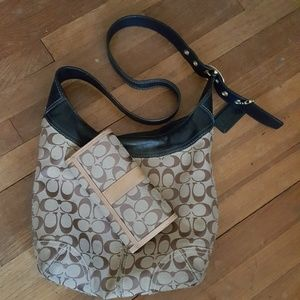 ♨👜👛RARE! Like New Coach CrossOver purse w/wallet